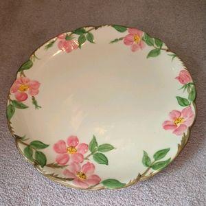 """Franciscan Platter 14"""" Desert Rose"""